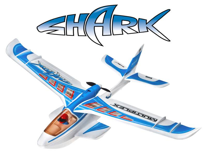Multiplex Shark, kellukkeet, VERTICAL Hobby