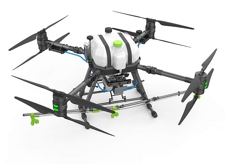 Walkera AG15 Oil-electric hybrid system plant protection drone on