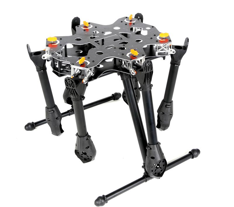 X-CAM KongCopter FH800 Folding Hexacopter Frame KIT, VERTICAL Hobby