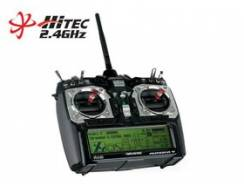 Hitec Aurora 9 - 9 Channel 2.4GHz AFHSS, Optima 7 Receiver