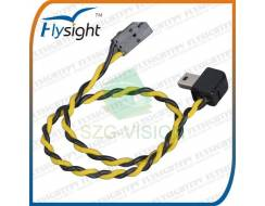 Gopro3 Video Cable With 90 degree USB