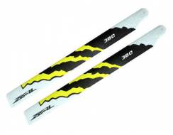 ZEAL Energy Carbon Fiber Main Blades 380mm, yellow