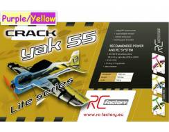 Crack Yak 55 EPP - Lite Series- Purple