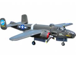 B-25 Mitchell Bomber 1470mm, EPO PNP, green