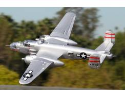 B-25 Mitchell Bomber 1470mm, EPO PNP, Silver
