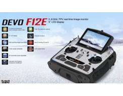 Devo F12E 2,4 Ghz 12 ch FPV 5,8Ghz, Bright screen