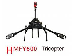 HMF Y600 3-Axis Frame Kit with Landing Gear & Gimbal Suspension