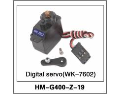 Servo, digital, metal gears for G400 (WK-7602)