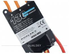 DualSky 130 A ESC 2-12s, High Voltage, V2