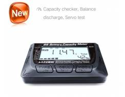 2-8S Digital Battery Checker with balancer and servo tester