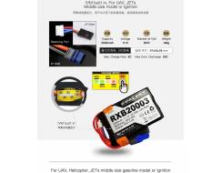 DualSky 2000mAh 11,1V 20C Lipo pack for TX / RX