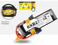 DualSky 2700mAh 11,1V 20C Lipo pack for TX/RX