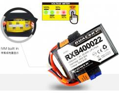 DualSky 4000mAh 7,4V 20C Lipo pack for receiver, DX