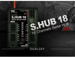 S.HUB 18 channel HV HUB S.BUS & PWM, upto 20A