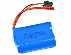 1000mAh 7.4V Li-Ion JST - WL Toys 1:10 car battery