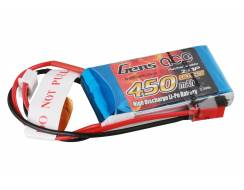 0450 mah 7.4V 25C pack with JST-plug