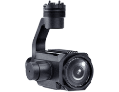 30X optical zoom camera with gimbal