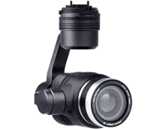 Nightvision camera with gimbal