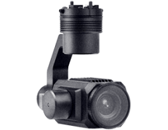 Thermal camera with gimbal