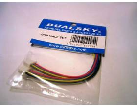 Dualsky 4 Pin male set1