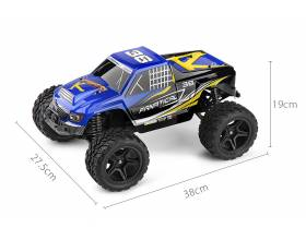 1:12 2WD Scale Electric Monster Truck, 2,4Ghz RTR3