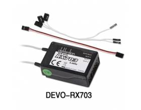 Devo 2.4Ghz 10CH Receiver, RX703 (PPM out)1