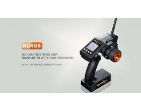 Radiolink RC4GS, car boat radio with gyro receiver7