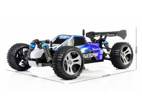 1:18 4WD Scale Electric Buggy, 2,4Ghz RTR5
