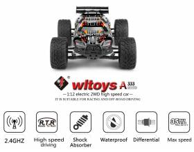 1:12 2WD Scale High Speed Stadium Truck, 2,4Ghz RTR5
