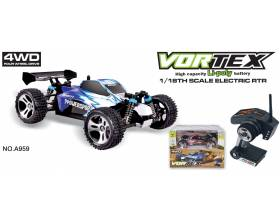 1:18 4WD Scale Electric Buggy, 2,4Ghz RTR4