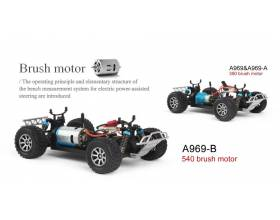 1:18 4WD Electric Buggy 50kmh, 2,4Ghz RTR2