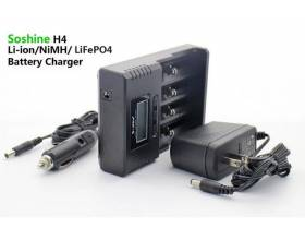 Smart Charger for Li-ion LiIFePO4 NiMH. 220V + Car charger2