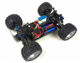 1:18 4WD Scale Electric Monster Truck, 2,4Ghz RTR4